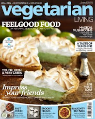 As Featured in Vegetarian Living, October 2012