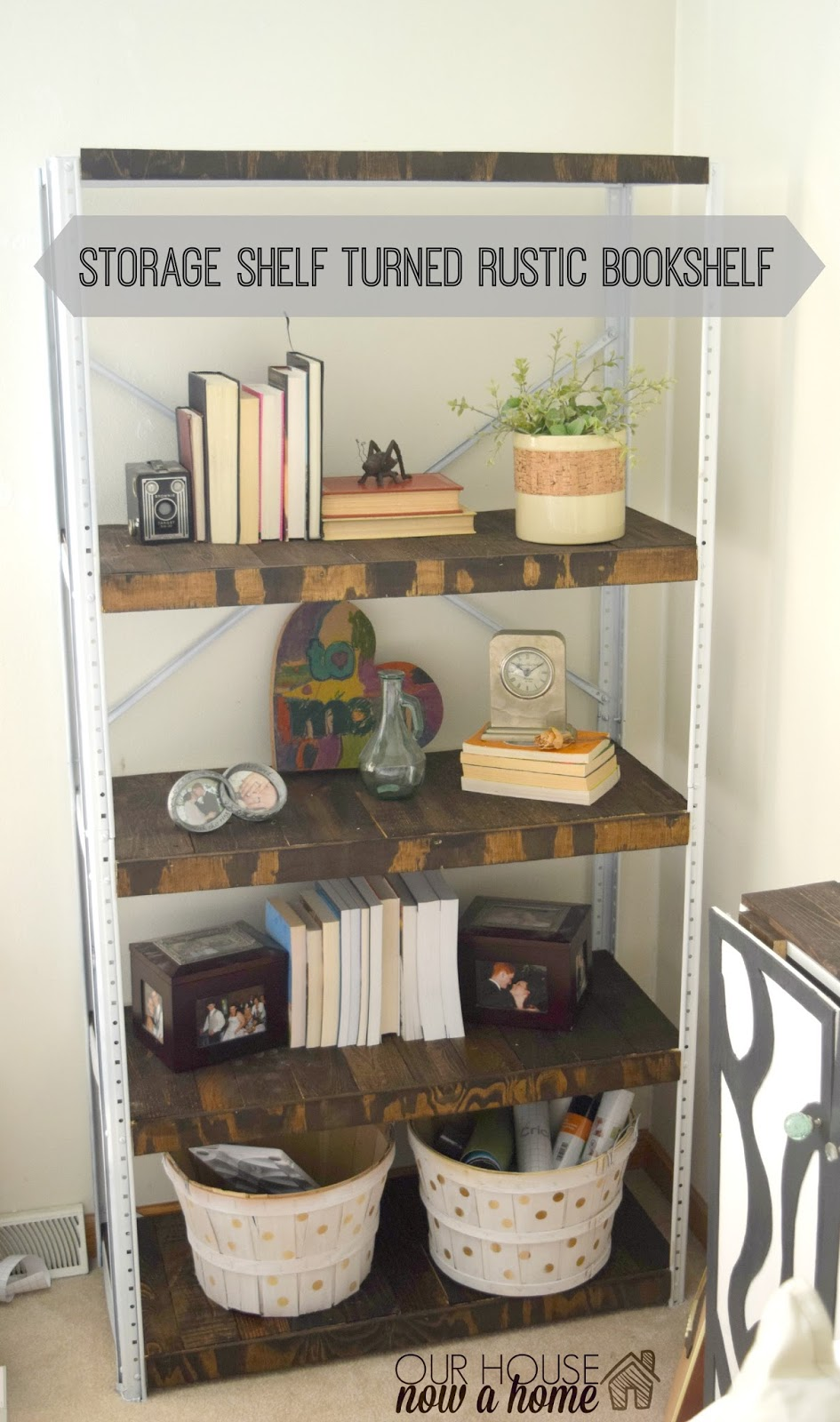 Furniture Refresh November A Weathered Book Shelf