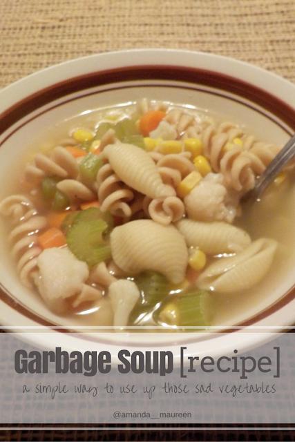 Recipe, Healthy Eats, Foodie, Garbage Soup