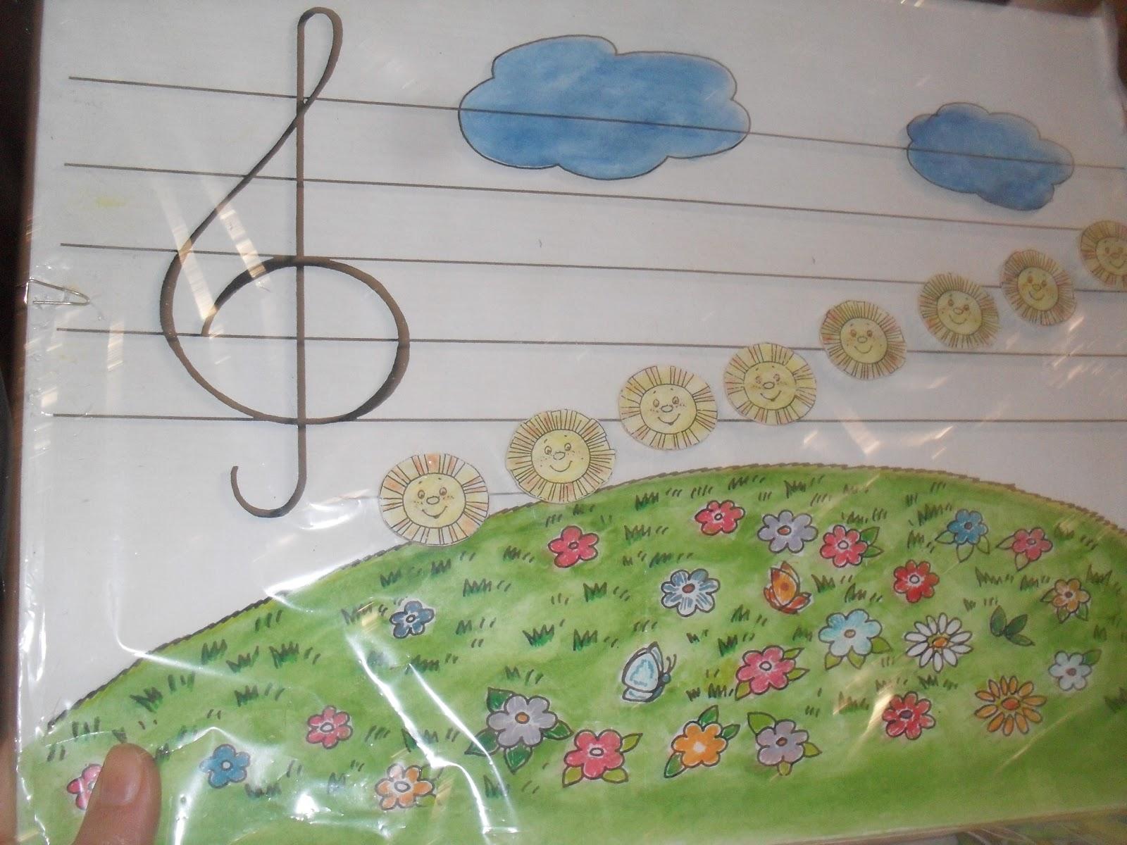 Музыкальное пособие для детского сада своими руками