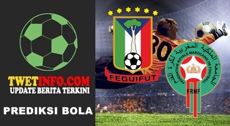 Prediksi Equatorial Guinea vs Morocco