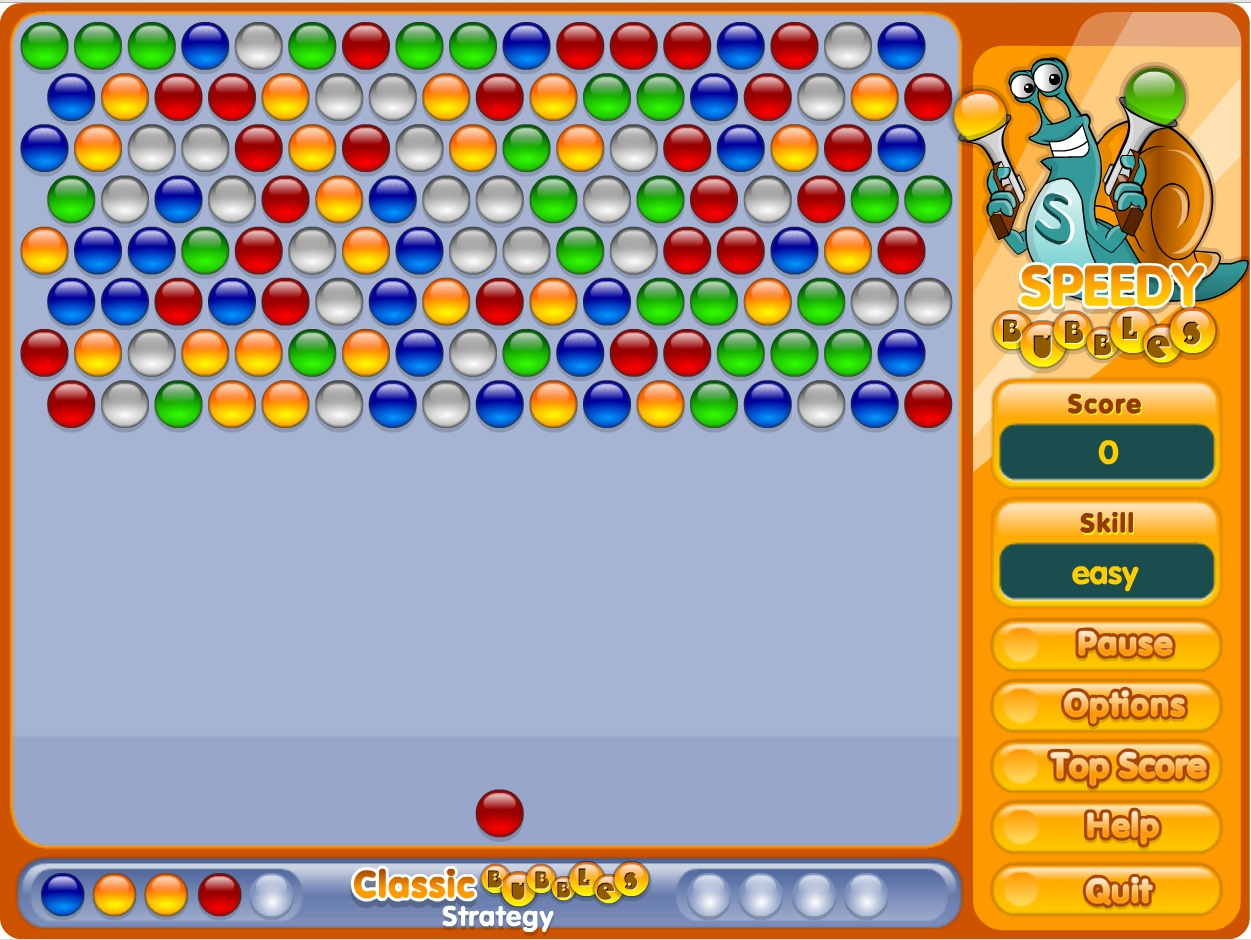A Game For Free : Speedy bubbles play free online facebook game games funia