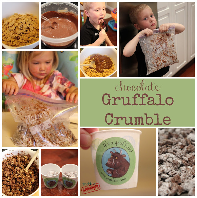 Art Girls Virtual Preschool: Toddler Approved!: 20 Gruffalo Themed Crafts And
