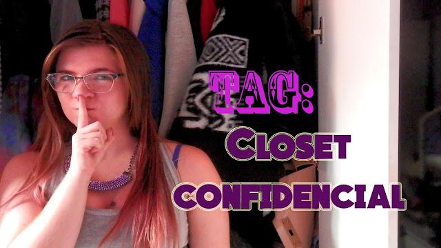 [Vídeo] Tag: Closet Confidencial