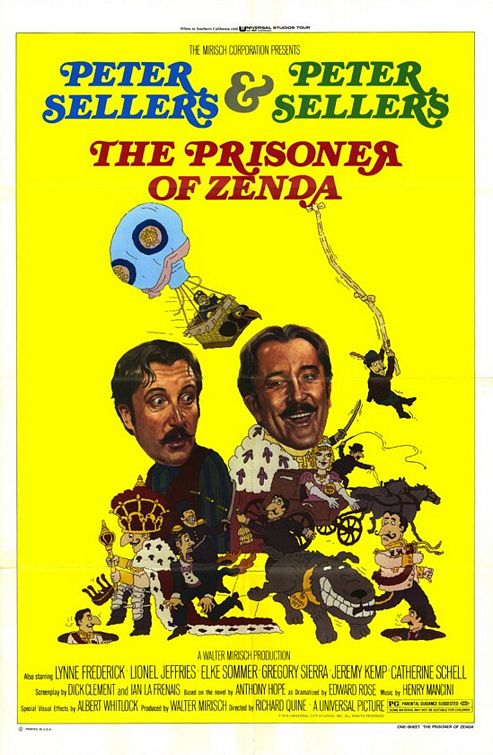 Prisoner of Zenda 1979 poster