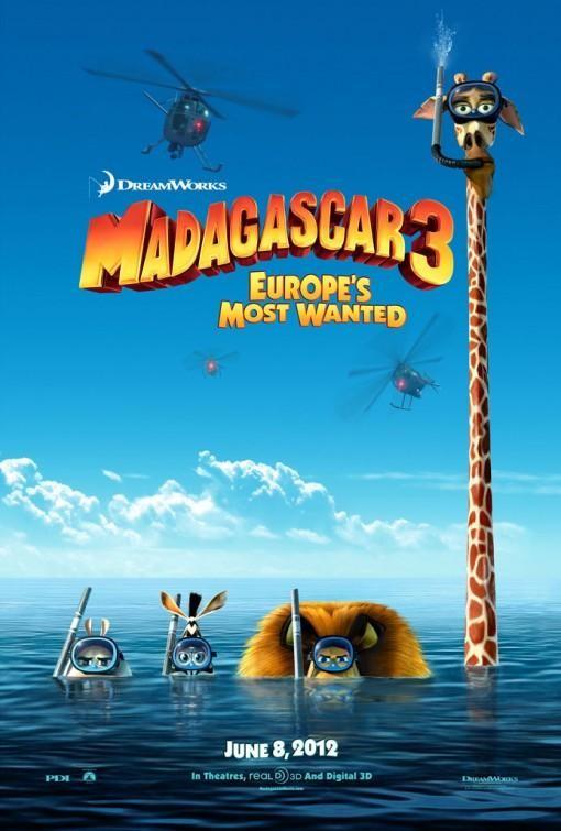 Ver Madagascar 3: de marcha por Europa. online