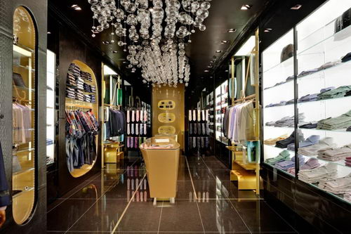 Billionaire the Italian Fashion Stores Interior Design