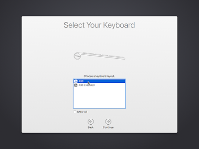 Keyboard OS X El Capitan
