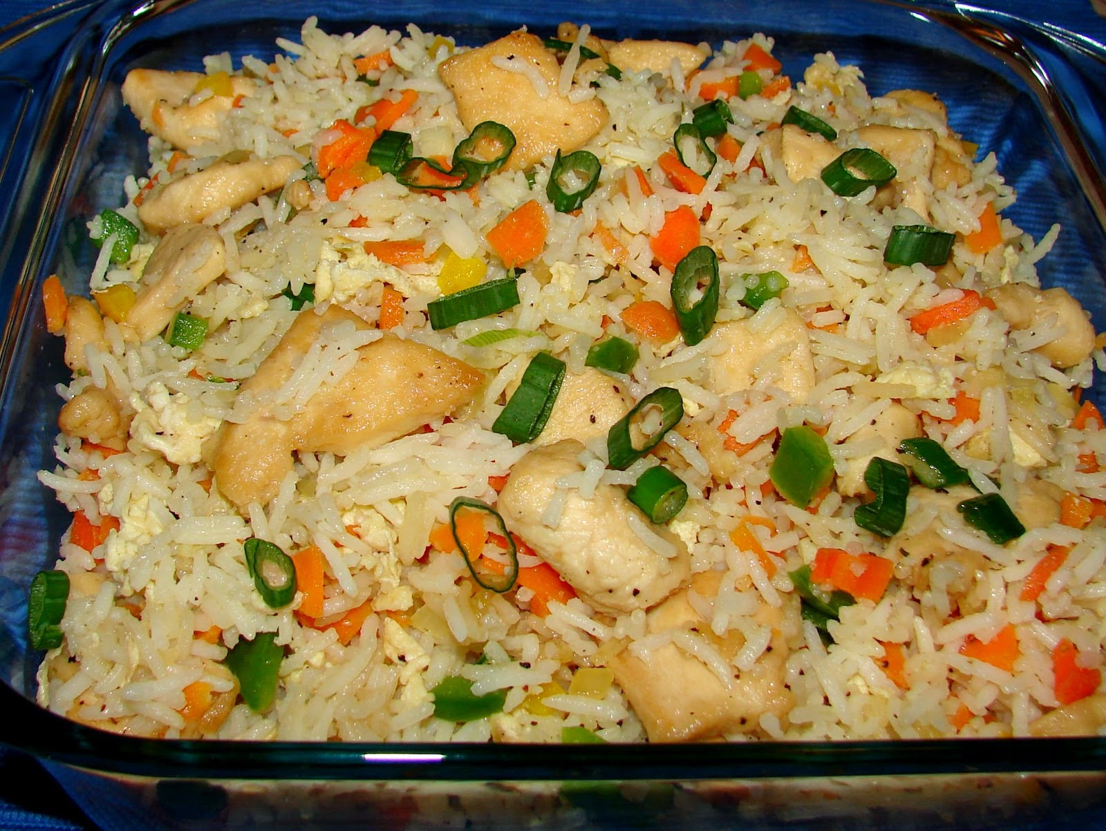 Chinese chicken fried rice recipe food online chinese chicken fried rice recipe forumfinder Images
