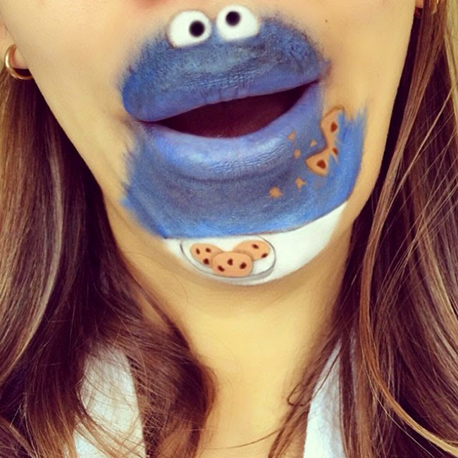 Girl Transforms Her Mouth Into Awesome Cartoon Characters ...