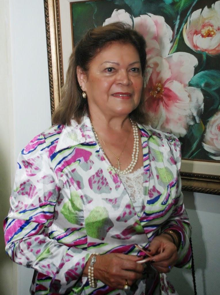 Edith Sidi- presidente de honra da Soarte- Teresópolis