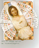 angel inspired card 2011