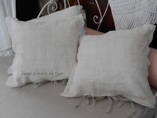 cuscino stoffa antica