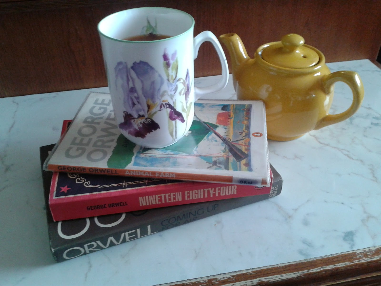 george orwell a nice cup of tea essay George orwell a nice cup of tea essay though his life was brief (1903-1950), orwell was extremely prolific in addition to penning two of the orwell collection of.