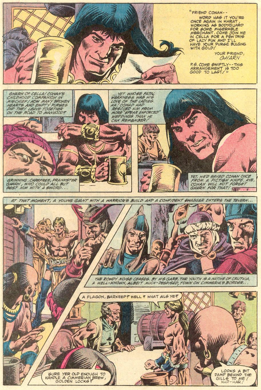 Conan the Barbarian (1970) Issue #132 #144 - English 3