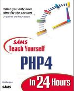 SAMS - Teach Yourself PHP4 in 24 Hours