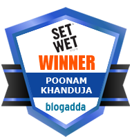 Winner With Set Wet & BlogAdda