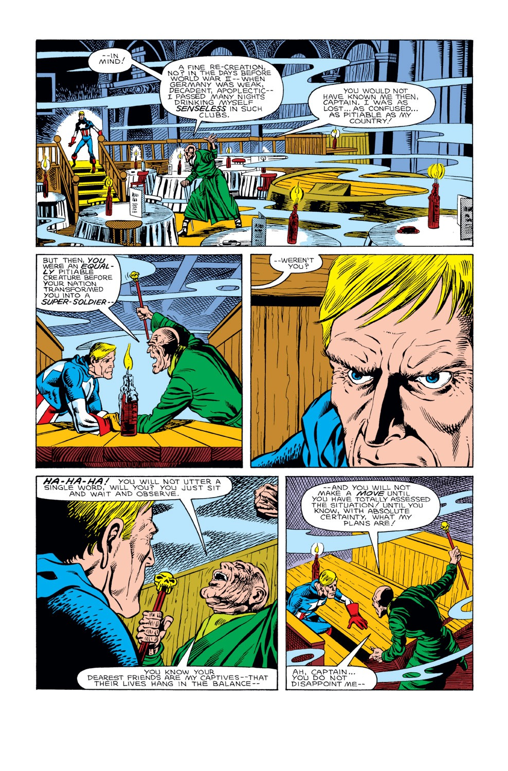 Captain America (1968) Issue #298 #226 - English 6