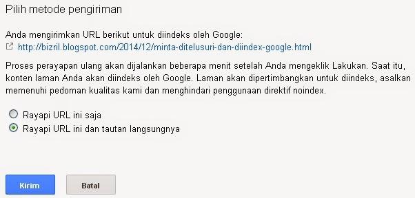 Minta Ditelusuri dan Diindex Google5