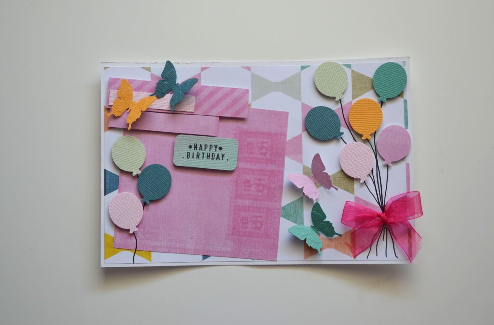 Con manos de papel tarjeta de cumplea os - Regalos originales para la casa ...