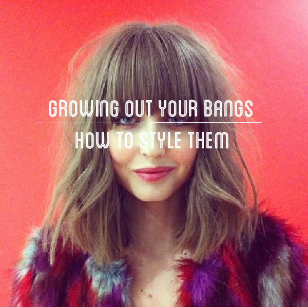 Mode Vintage: Tame Your Bangs - A Growing Out 101