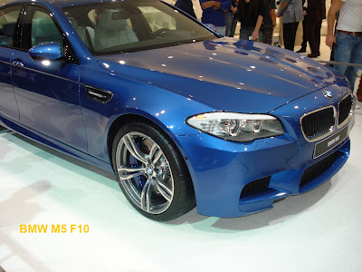 BMW M5 F10 at the 2011 Frankfurt Motor Show
