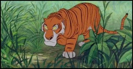 Shere Khan en El libro de la selva