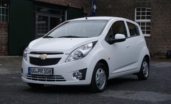Car Model Chevrolet Spark 2012