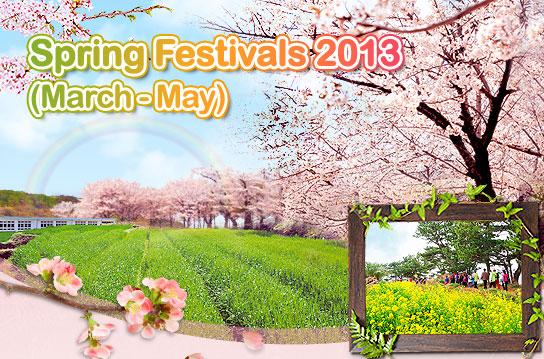 Spring Festivals 2013 Korea