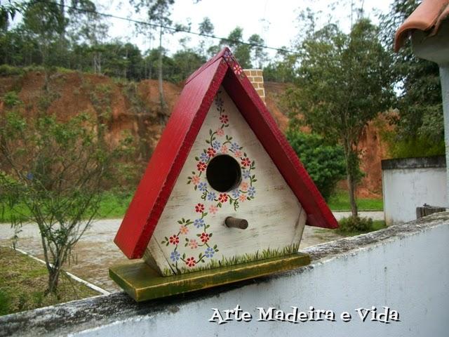 casa de passarinho verm