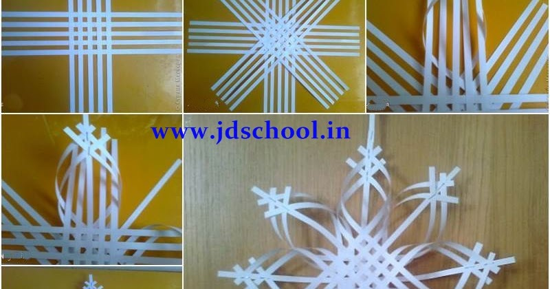 Creative ideas make 3d paper snowflake crazzy craft for Diy paper snowflakes 3d