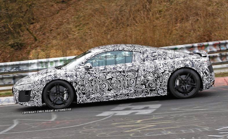 2015 Audi R8 Spy Shots