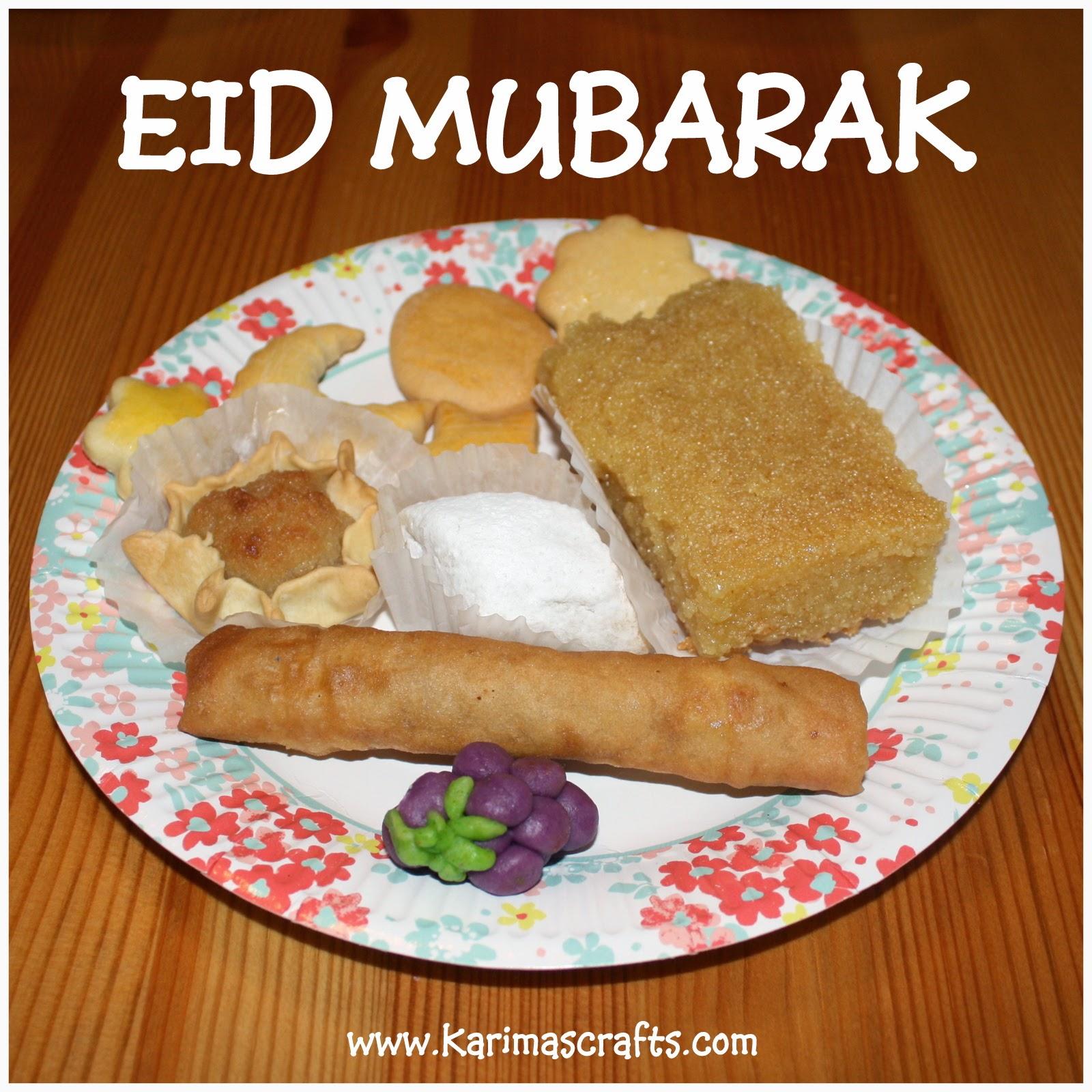 20 Wonderful Eid Mubarak Ideas: Karima's Crafts: Eid Mubarak