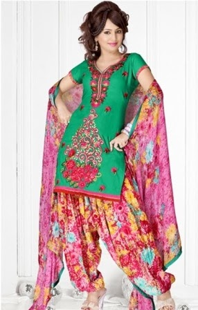 Exclusive Patiala Suits 2014
