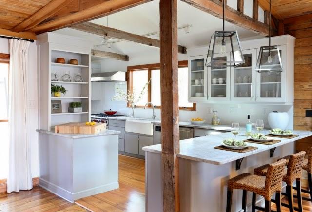 Fotos De Cocinas Rústicas Colores En Casa ~ Decoracion De Cocinas Rusticas  Blancas