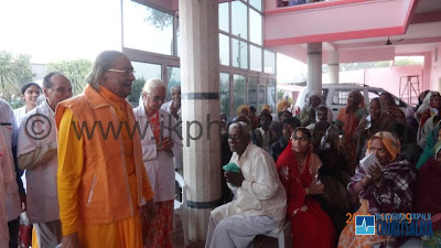 Jagadguru Kripaluji's Oct 20th visit to JKP Hospital
