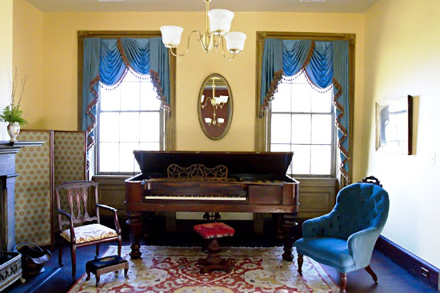 victorian parlor furniture blue classic design ideas with antique piano and lighting hanging best yellow vintage wall painting color dark hardwood flooring and motif carpets