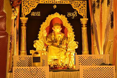 Jalaram Form in Bal Ganesh  kharvar sheri, hanuman sheri, Surat 2012