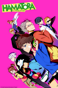 Hamatora The Animation Promotional Image