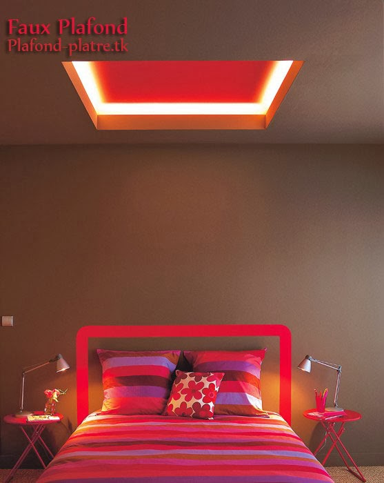Fabulous dont le libell est decoration plafond afficher for Decoration platre chambre