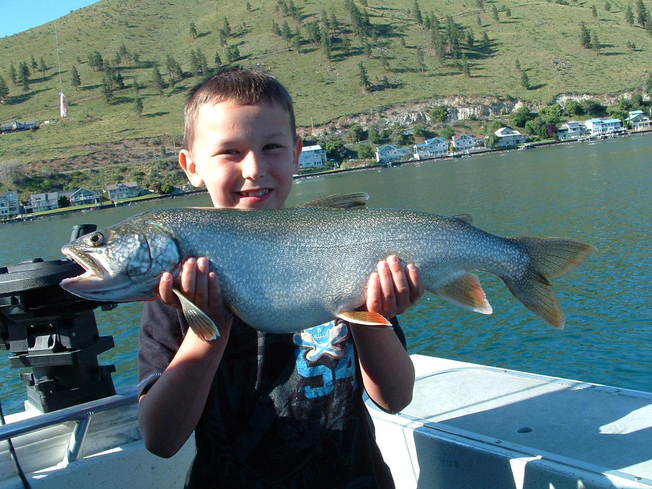 Northwest salmon and steelhead fishing chelan lake trout for Lake chelan fishing