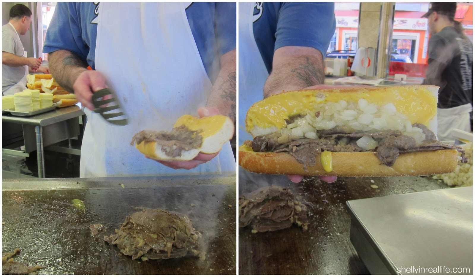 The Best Cheesesteak in Philly: Pat's vs. Geno's - Shelly ...
