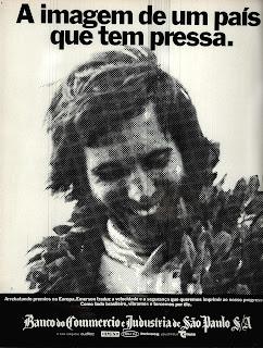 propaganda Banco do Commércio e Indústria - 1972; 1972; os anos 70; propaganda na década de 70; Brazil in the 70s, história anos 70; Oswaldo Hernandez;