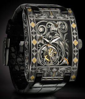 Montre Artya Complication Arabesque Tourbillon