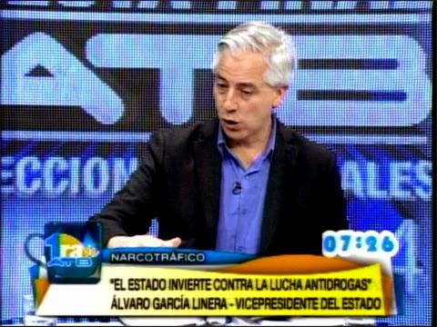 Álvaro García Linera es entrevistado en el programa Conociendo al Candidato de la Red ATB
