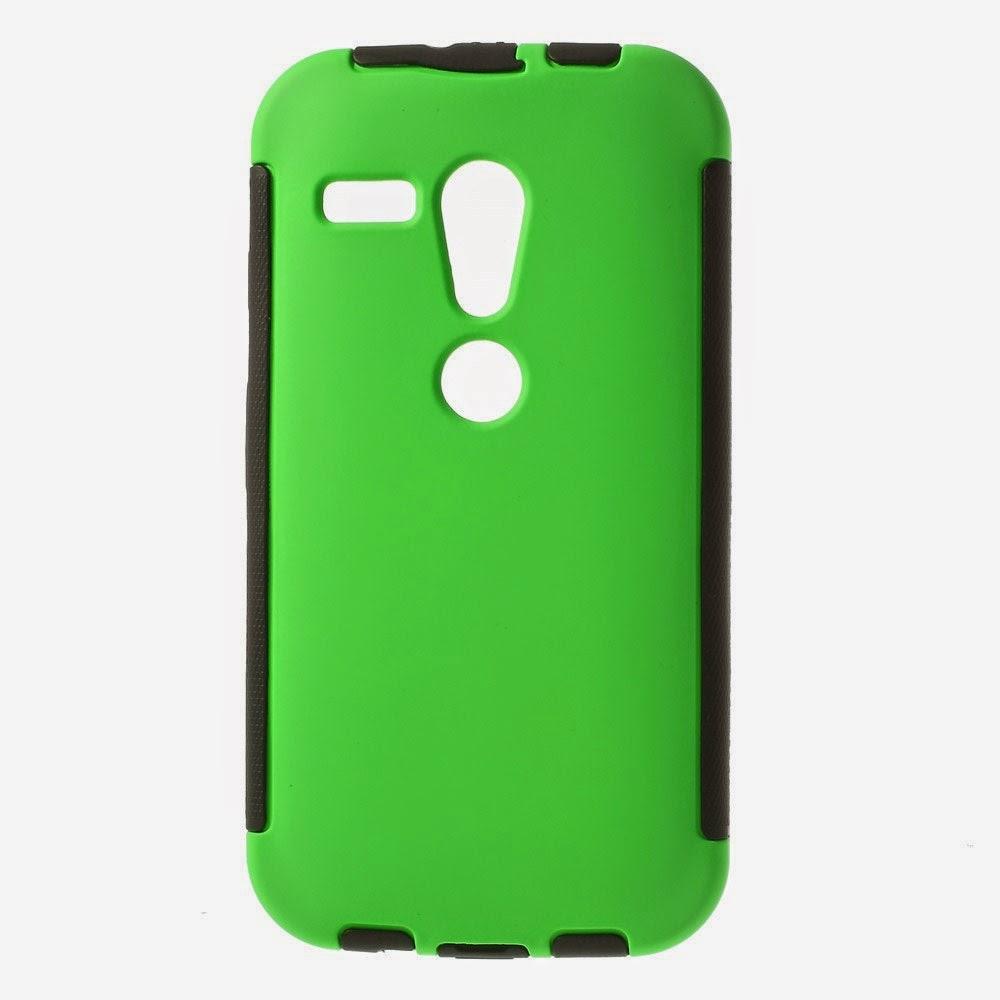Defender-Series-Case-Cover-Screen-Protector-Motorola-Moto-G-DVX-XT1032-Green
