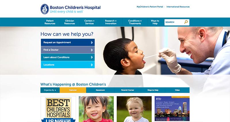 Web design showcase: 6 examples of good pediatrics websites ...