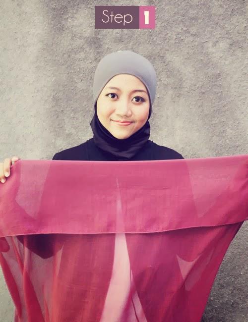 Cara Mudah Memakai Jilbab Modern Terbaru 2015