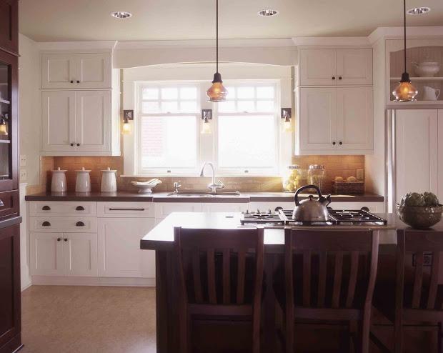 Craftsman Mission Style Kitchen Cabinets