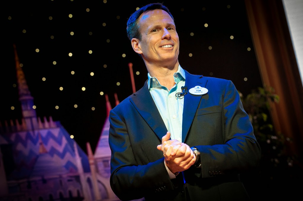 Tom Staggs DisneySMMoms